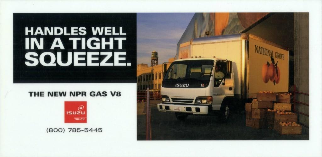 Isuzu Truck Billboard