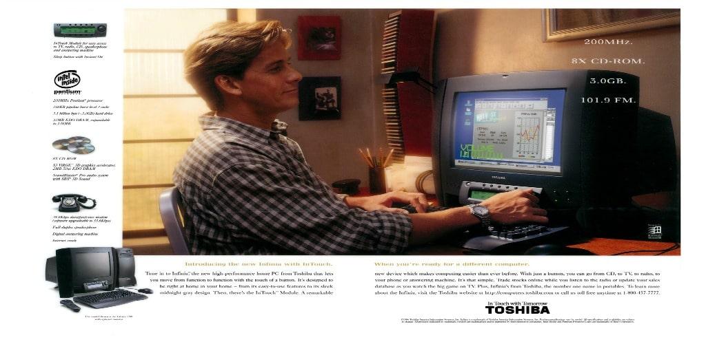 Toshiba Infinia Computers